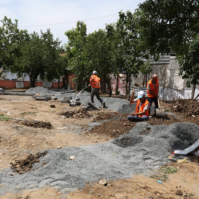 Çırçır Mahallesi yeni bir parka kavuşuyor