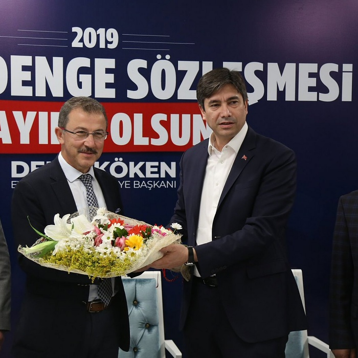 Eyüpsultan'da sosyal denge sözleşmesi imzalandı