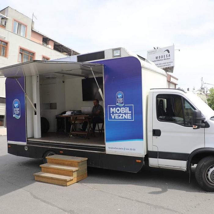 Eyüpsultan Mobil Vergi Ödeme Aracı mahallelerde