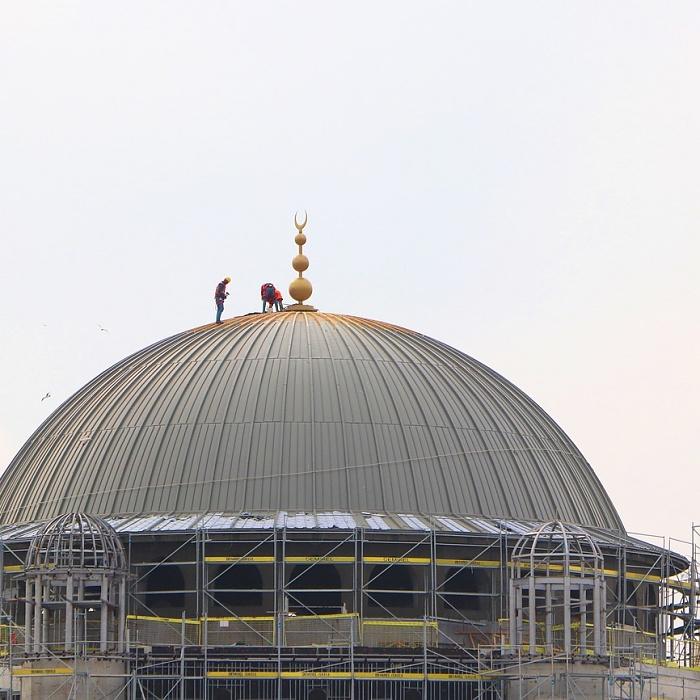 Taksim Cami'nin yıl sonunda açılması hedefleniyor