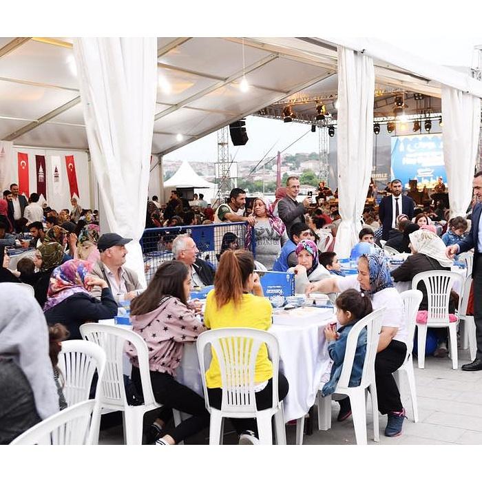 Tokatlılar Hasköy Sahil'de Kurulan Gönül Sofraları'nda Buluştu