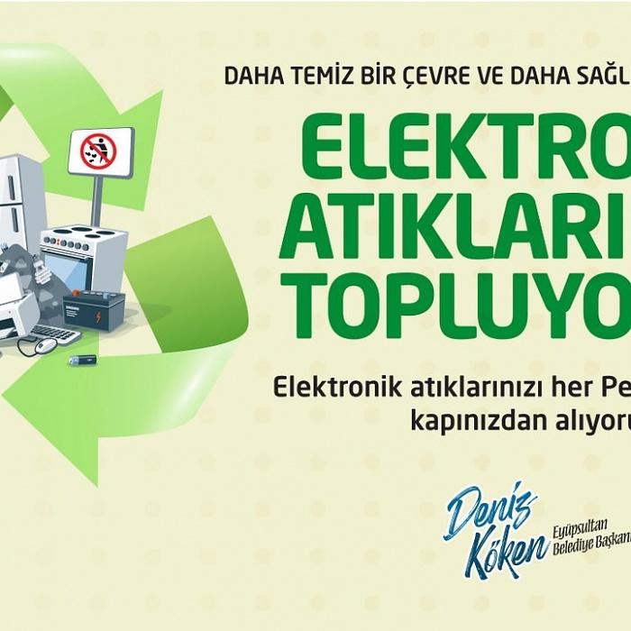 Daha temiz bir çevre için elektronik atıklar toplanıyor