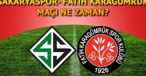 Fatih Karagümrük - Sakaryaspor finali ne zaman ve saat kaçta oynanacak?