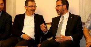 Gençlik ve Spor Bakanı Kasapoğlu, Eyüpsultan'ı ziyaret etti