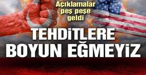 Trump'ın tehditlerine Cumhurbaşkanı Yardımcısı Fuat Oktay'dan sert yanıt